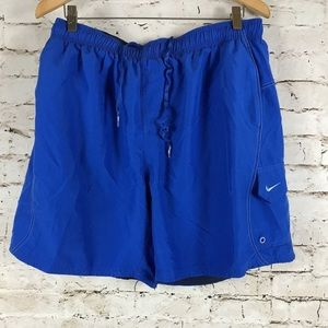 Vintage Nike Bathing Suit Swim Trunks Size XL Blue